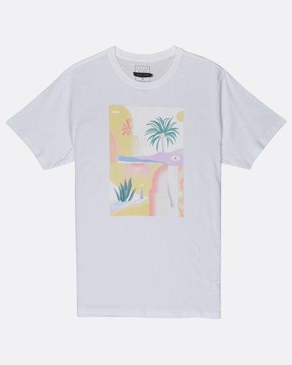 0 Wandering Eye T-Shirt White J1SS16BIS8 Billabong