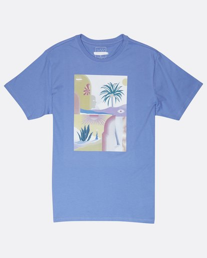 0 Wandering Eye T-Shirt Blue J1SS16BIS8 Billabong