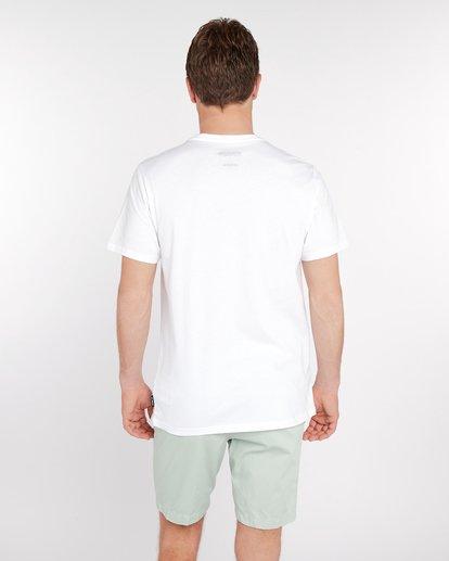 3 Wandering Eye T-Shirt Blanc J1SS16BIS8 Billabong