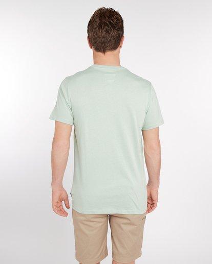 3 Wandering Eye T-Shirt Green J1SS16BIS8 Billabong