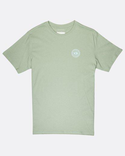 0 Night Moves T-Shirt Vert J1SS17BIS8 Billabong