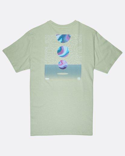 1 Night Moves T-Shirt Vert J1SS17BIS8 Billabong