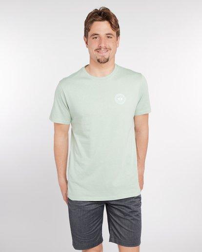 2 Night Moves T-Shirt Vert J1SS17BIS8 Billabong