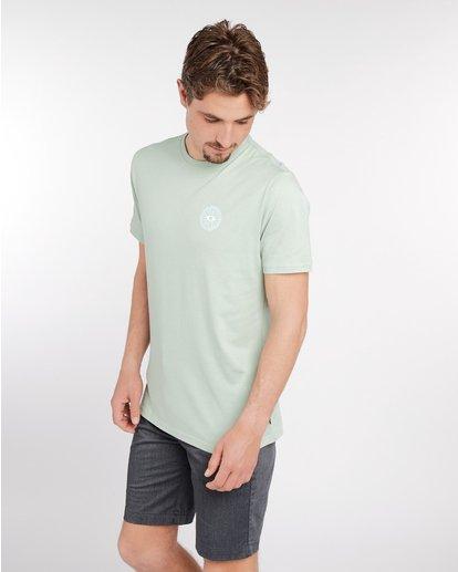 3 Night Moves T-Shirt Vert J1SS17BIS8 Billabong