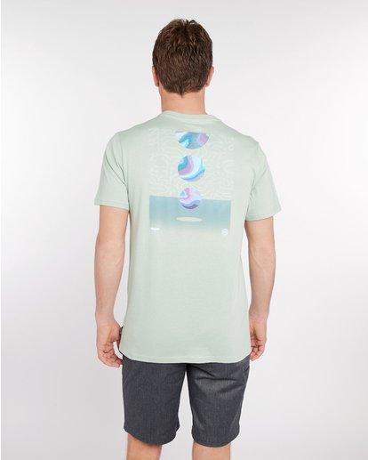 4 Night Moves T-Shirt Vert J1SS17BIS8 Billabong