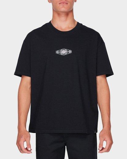 1 Thorn Logo T-Shirt Black J1SS28BIS8 Billabong