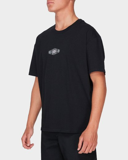 2 Thorn Logo T-Shirt Black J1SS28BIS8 Billabong