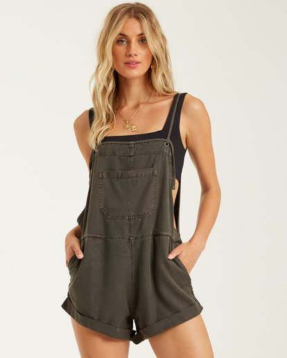3 Wild Pursuit Short Overall Black J204TBWI Billabong