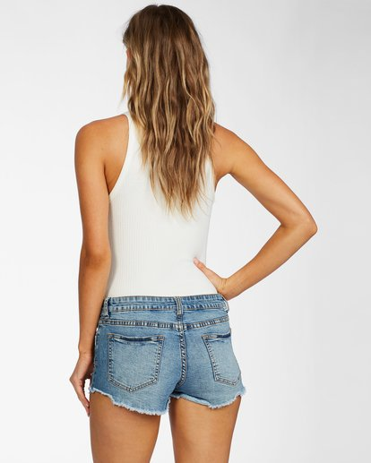 2 Lite Hearted Denim Short Green J226JLIT Billabong