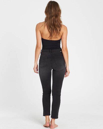 3 Cheeky High-Waisted Jeans Black J301SBCH Billabong