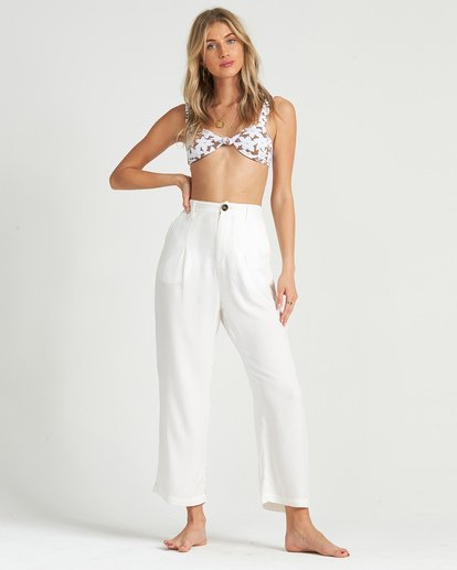 1 Casually Busy Pant White J3041BCA Billabong
