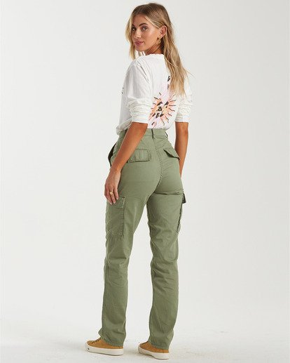 2 Kick Back Pant Beige J3043BKI Billabong