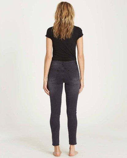 2 Side By Side Skinny Jeans Black J306MSID Billabong