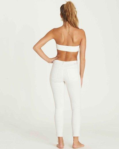 2 Side By Side Skinny Jeans Blue J306MSID Billabong