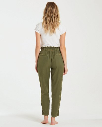 2 Desert Adventure Pant Green J307QBDE Billabong