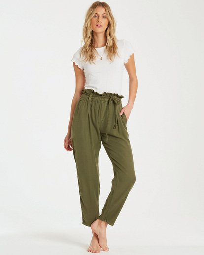 0 Desert Adventure Pant Green J307QBDE Billabong