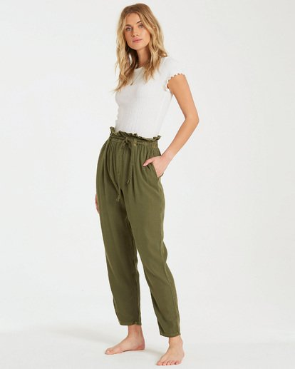 1 Desert Adventure Pant Green J307QBDE Billabong