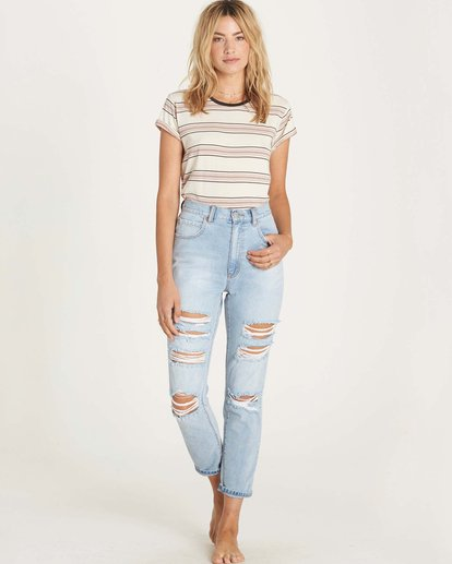 1 Cheeky High-Rise Jeans  J311LCHE Billabong