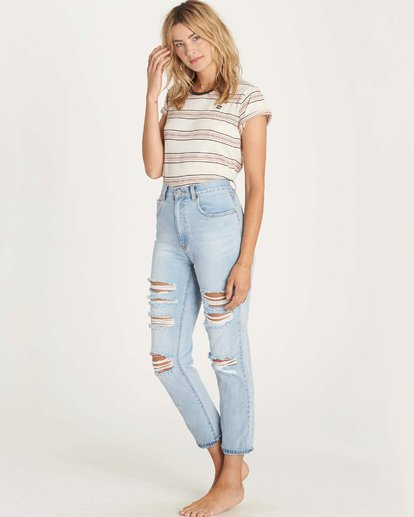 2 Cheeky High-Rise Jeans  J311LCHE Billabong