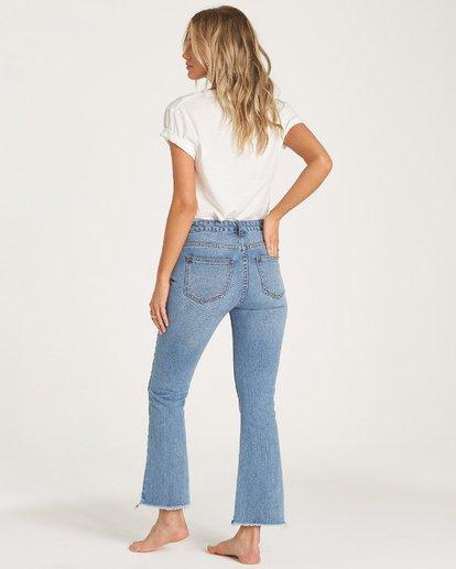3 Cheeky Straight Leg Jeans Blue J315WBCH Billabong