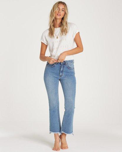 1 Cheeky Straight Leg Jeans Blue J315WBCH Billabong