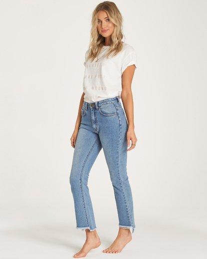 2 Cheeky Straight Leg Jeans Blue J315WBCH Billabong