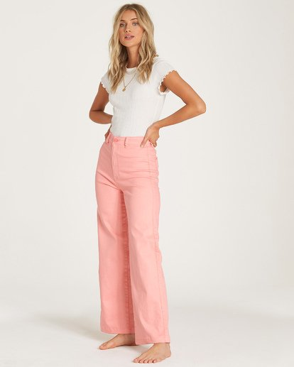 2 Sunshine Day Pant Orange J320WBSU Billabong