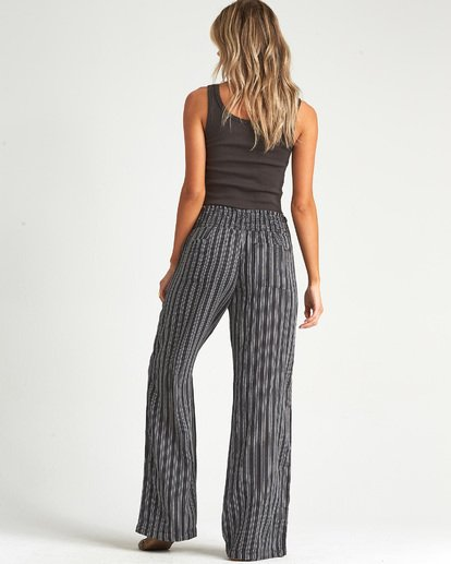 1 New Waves Stripe Pant Black J323JNEW Billabong