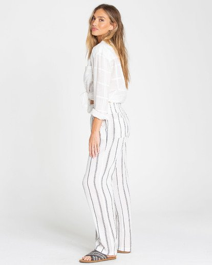 1 New Waves Stripe Pant White J323JNEW Billabong