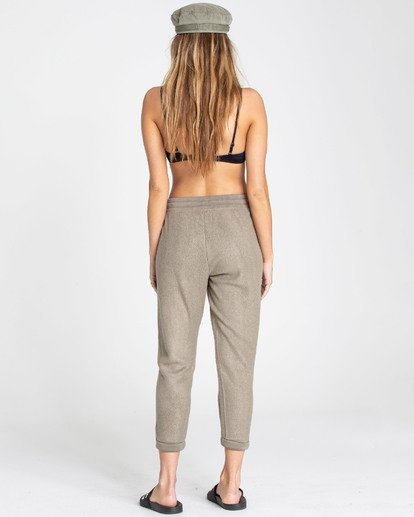 2 So Cozy Fleece Pant Green J324TBSO Billabong