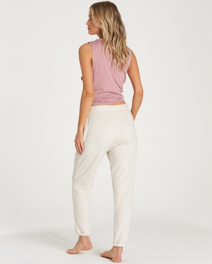 2 So Cozy Fleece Pant White J324VBSO Billabong