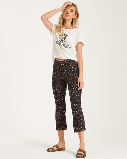 1 Sundown Crop Pant Blue J329WBSU Billabong