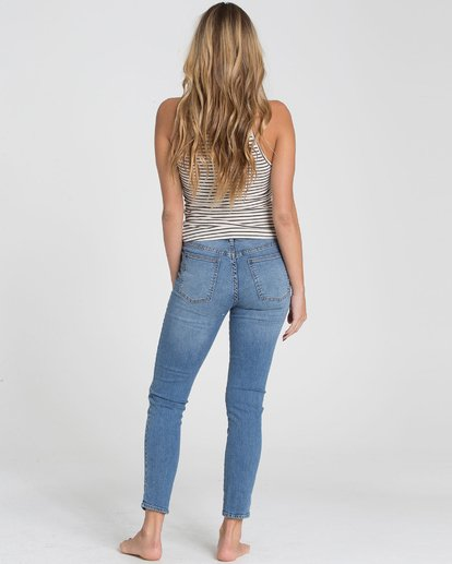 2 Side By Side Indigo Jeans  J338MSID Billabong