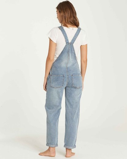 2 All Over Denim Overalls  J339QBAL Billabong