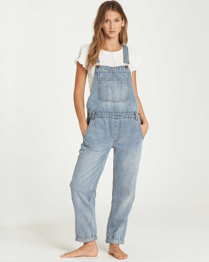 0 All Over Denim Overalls  J339QBAL Billabong