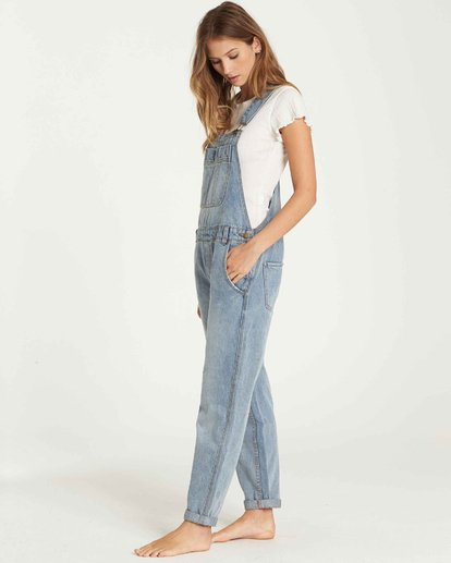 1 All Over Denim Overalls  J339QBAL Billabong