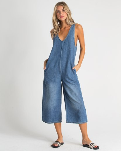 2 Valeria Jumpsuit Blue J340TBVA Billabong