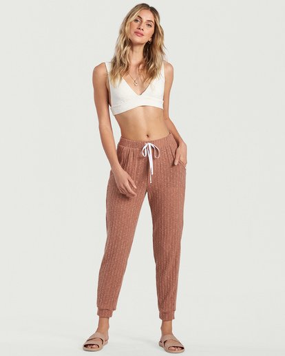 6 Cozy Coast Pant White J3453BCO Billabong