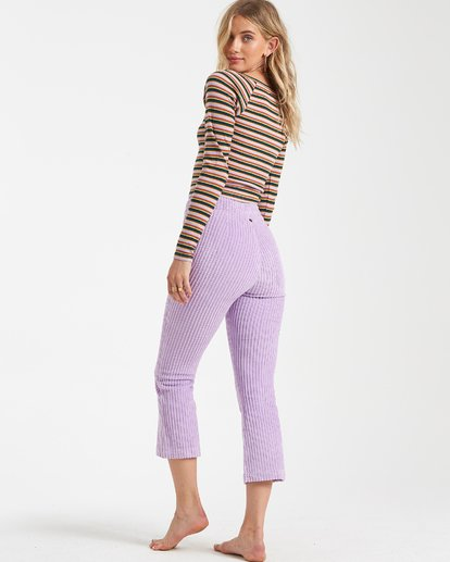 3 Jagger Corduroy Pants Purple J360VBJA Billabong