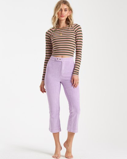 1 Jagger Corduroy Pants Purple J360VBJA Billabong
