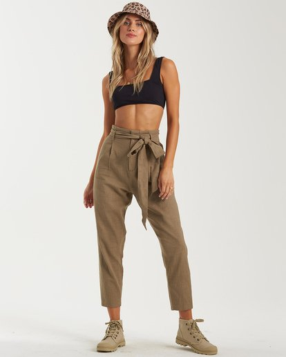0 Sand Stand Pant Green J3822BSA Billabong