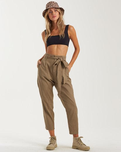 3 Sand Stand Pant Green J3822BSA Billabong
