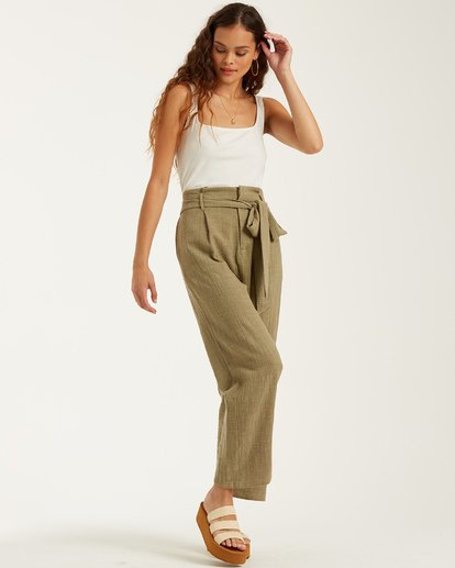 1 Sand Stand Pant Green J3822BSA Billabong
