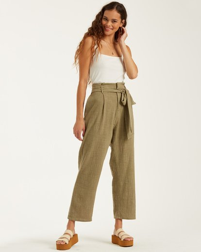 2 Sand Stand Pant Green J3862BSA Billabong