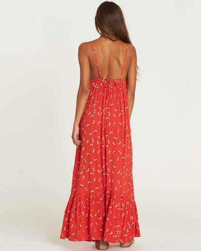 1 Flamed Out Maxi Dress Rouge J3DR08BIS8 Billabong