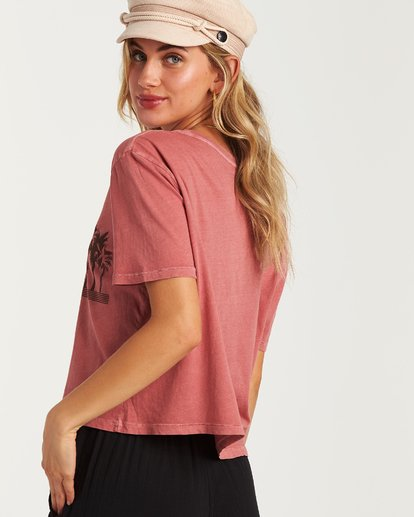 2 Skyline T-Shirt Pink J402VBSS Billabong