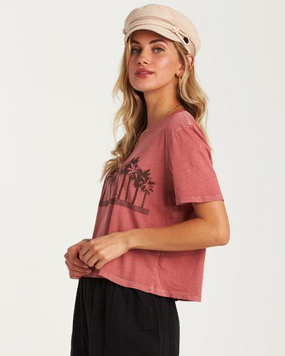 1 Skyline T-Shirt Pink J402VBSS Billabong