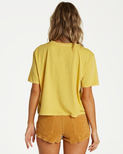 2 Stay Chill T-Shirt Yellow J402VBST Billabong