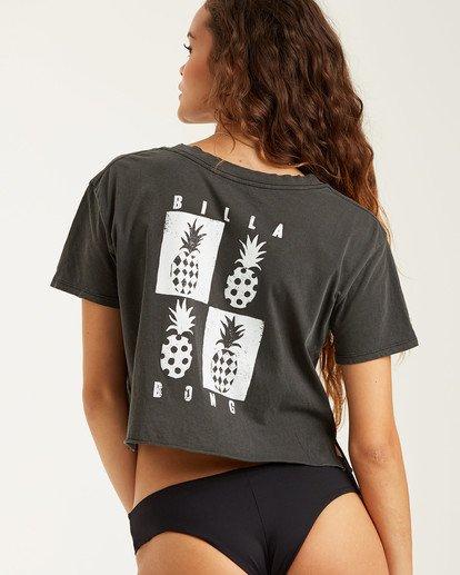 0 Mod Pineapple T-Shirt Black J4132BMO Billabong