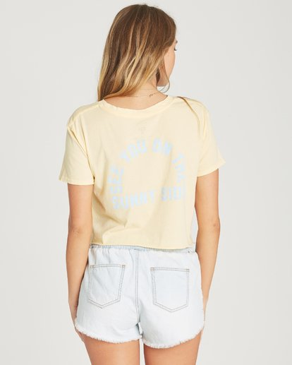 2 Cocoa Beach Tee Yellow J413TBCO Billabong